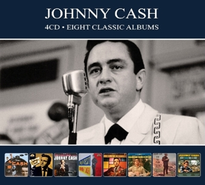 CASH, JOHNNY - 8 CLASSIC ALBUMS -DIGI-