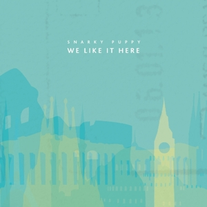 SNARKY PUPPY - WE LIKE IT HERE -CD+DVD-