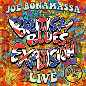 BONAMASSA, JOE - BRITISH BLUES EXPLOSION LIVE / 1 BONUS TRACK -COLOURED-