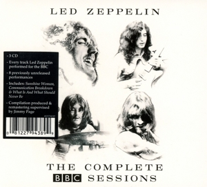 LED ZEPPELIN - COMPLETE BBC SESSIONS -DELUXE-