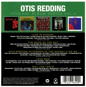 REDDING, OTIS - ORIGINAL ALBUM SERIES 2