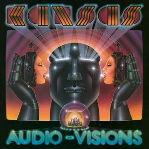 KANSAS - AUDIO-VISIONS -COLOURED-