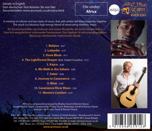 TOURE, MODOU & RAMON GOOSE - THE WEST AFRICAN BLUES PROJECT
