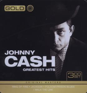 CASH, JOHNNY - GOLD-GREATEST HITS