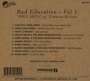 VARIOUS - BAD EDUCATION