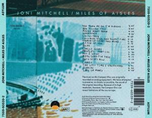 MITCHELL, JONI - MILES OF AISLES