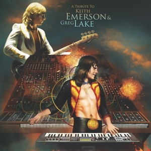 VARIOUS - TRIBUTE TO KEITH EMERSON & GREG LAK