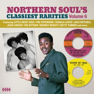 VARIOUS - NORTHERN SOUL'S CLASSIEST RARITIES VOLUME 6VOL.6