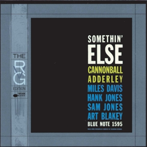 ADDERLEY, CANNONBALL - SOMETHIN  ELSE (RUDY VAN GELDER REM