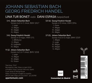LINA TUR BONET DANI ESPASA - BACH HANDEL AN IMAGINARY MEETING
