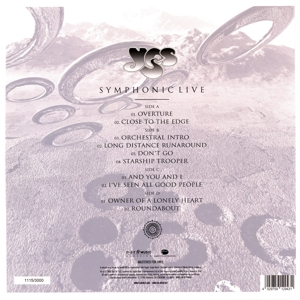YES - SYMPHONIC LIVE - LIVE IN AMSTERDAM 2001 -LTD-