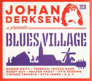 DERKSEN, JOHAN/VARIOUS ARTISTS - JOHAN DERKSEN PRESENTS BLUES