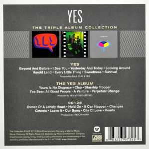 YES - TRIPLE ALBUM COLLECTION