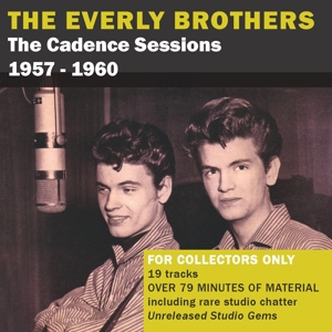 EVERLY BROTHERS - CADENCE SESSIONS VOLUME 2 1957-1960