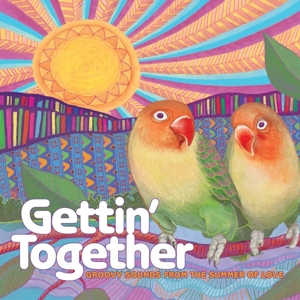 VARIOUS - GETTIN' TOGETHER: GROOVY / OPAQUE RED VINYL -COLOURED-