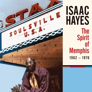 HAYES, ISAAC - THE SPIRIT OF MEMPHIS (1962-1976)(L