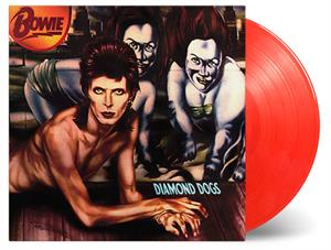 BOWIE, DAVID - DIAMOND DOGS -RED VINYL- (45TH ANNIVERSARY)