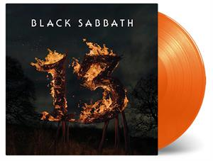 BLACK SABBATH - 13 -ORANGE-