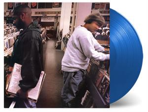 DJ SHADOW - ENDTRODUCING...-DARK BLUE-