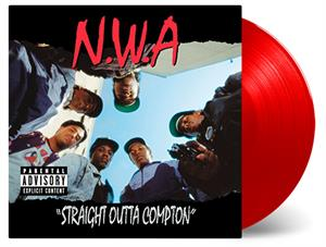 N.W.A. - STRAIGHT OUTTA COMPTON -RED-