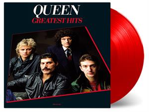 QUEEN - GREATEST HITS -RED-
