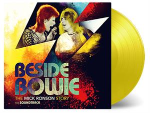 VARIOUS - BESIDE BOWIE  THE MICK RONSON STORY -YELLOW-