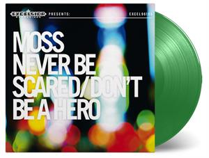 MOSS - NEVER BE BE A HERO // ON GREEN VINYL -COLOURED-