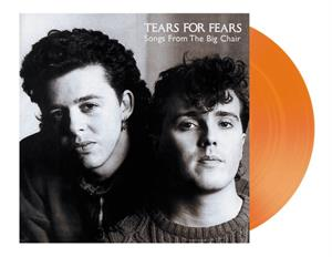 TEARS FOR FEARS - SONGS FROM THE BIG CHAIR -COLOURED-  + TOTE-BAG