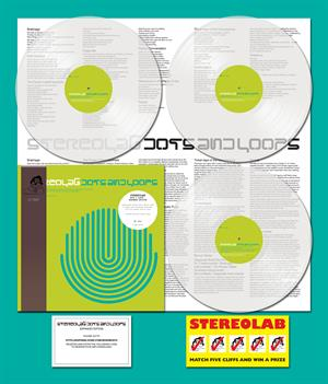 STEREOLAB - DOTS & LOOPS -COLOURED-