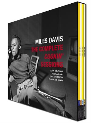 DAVIS, MILES - COMPLETE COOKIN' SESSIONS