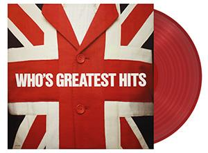 WHO - GREATEST HITS - RED-