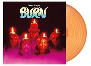 DEEP PURPLE - BURN -OPAQUE ORANGE-
