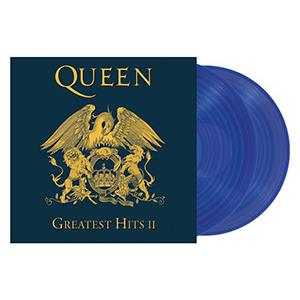 QUEEN - GREATEST HITS II -2LP BLUE VINYL-