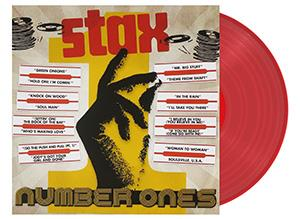 VARIOUS - STAX NUMBER ONES -TRANSPARENT-
