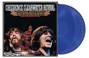 CREEDENCE CLEARWATER REVIVAL - CHRONICLE  THE 20 GREATEST HITS -BLUE-