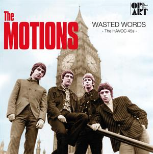 MOTIONS - WASTED WORDS - HAVOC 45'S -HQ-