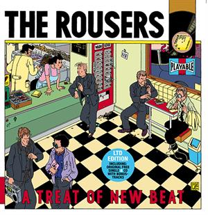 "ROUSERS - A TREAT OF NEW BEAT (LP+7""+CD)"