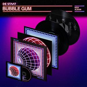 DE STAAT - BUBBLE GUM -LIMITED EDITION 2LP+CD